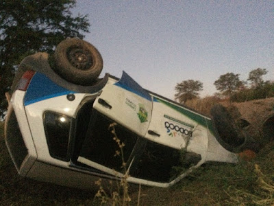 Blogueiro e Fotógrafo Rômulo Lima sofre acidente de carro, mas passa bem