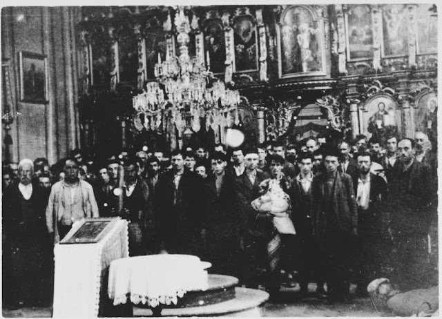 Serbs in church in Gilna, Croatia, 30 July 1941 worldwartwo.filminspector.com