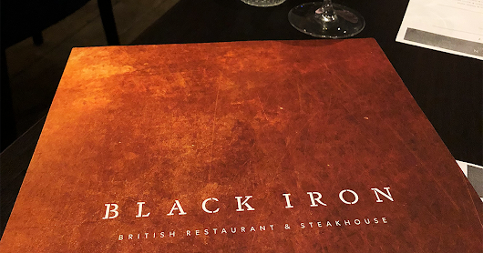 BLACK IRON LEICESTER RESTAURANT REVIEW
