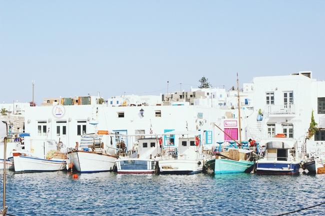 Naoussa,Paros,stara luka