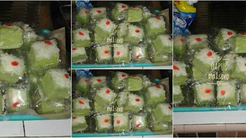Resep Membuat Brownies Pandan Potong Dapur Mamasero by Zeti Dapur Mamasero