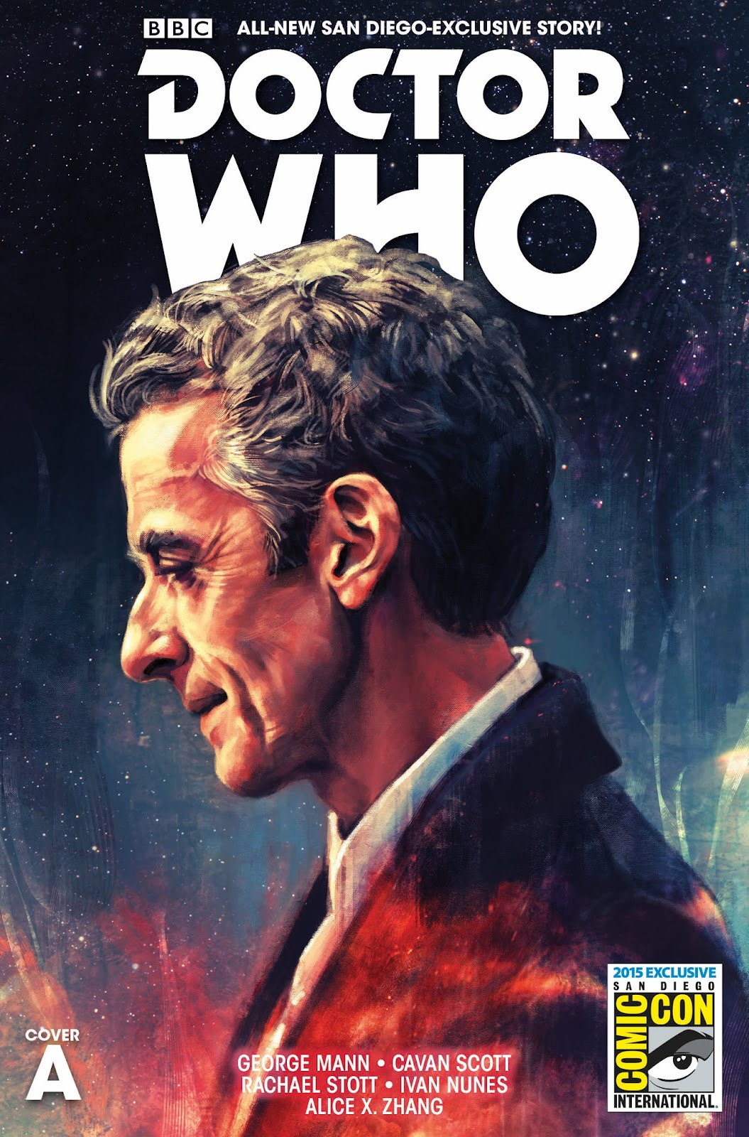 The Gallifreyan Gazette: Doctor Who - Titan Comics Doctor Who SDCC