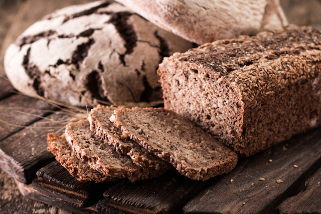 Rúgbrauð or Icelandic rye bread is a traditional food in Iceland