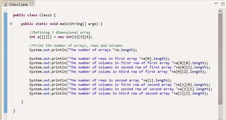 how to find the length of an array