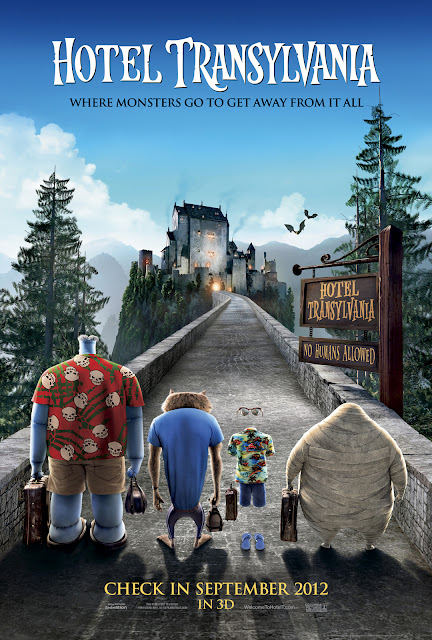 Hotel Translyvania 3D Animation Movie Poster