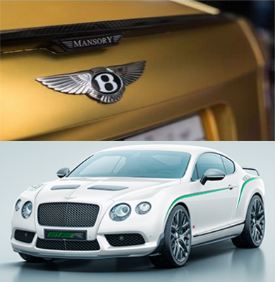 Bentley GT3 modif emas