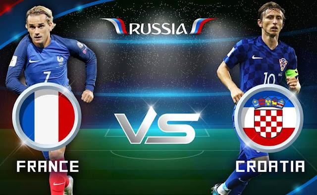France vs. Croatia FIFA World Cup FINALS LIVE STREAM!   RUSSIA WORLD CUP 2018