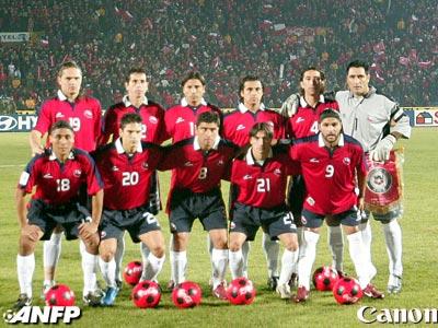 Formación de Chile ante Brasil, Clasificatorias Alemania 2006, 6 de junio de 2004