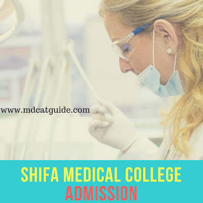 shifa medical college admission