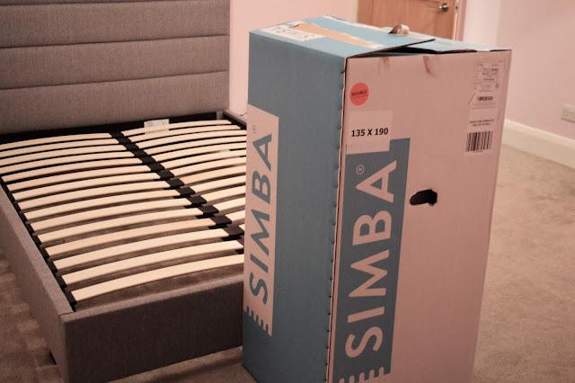 Simba mattress box