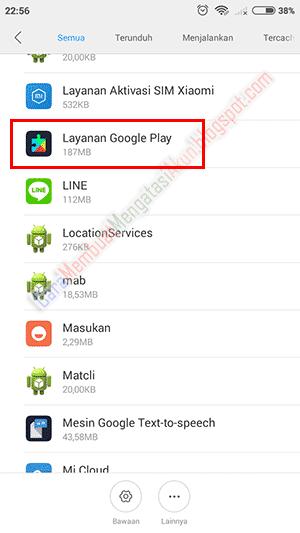 cara autentikasi google play store