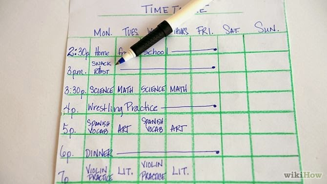 ISHWAR TUITION CLASSES How to make a good Time Table for Study? - study timetable