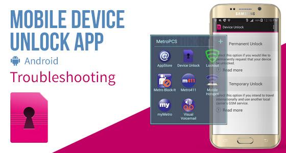 vungtauunlock: Mobile Device Unlock App (Android) – Troubleshooting