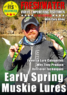 spring muskie lures its freshwater cory allen