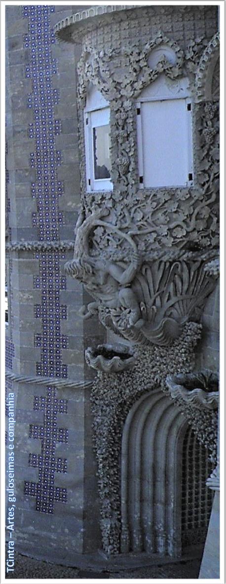 Janela do tritão; Palácio Nacional da Pena; Portugal; sem guia; Europa;