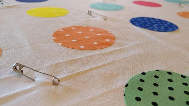 Rainbow Circle Pi Quilt