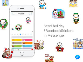 Get in the Holiday Spirit with Facebook Stickers
