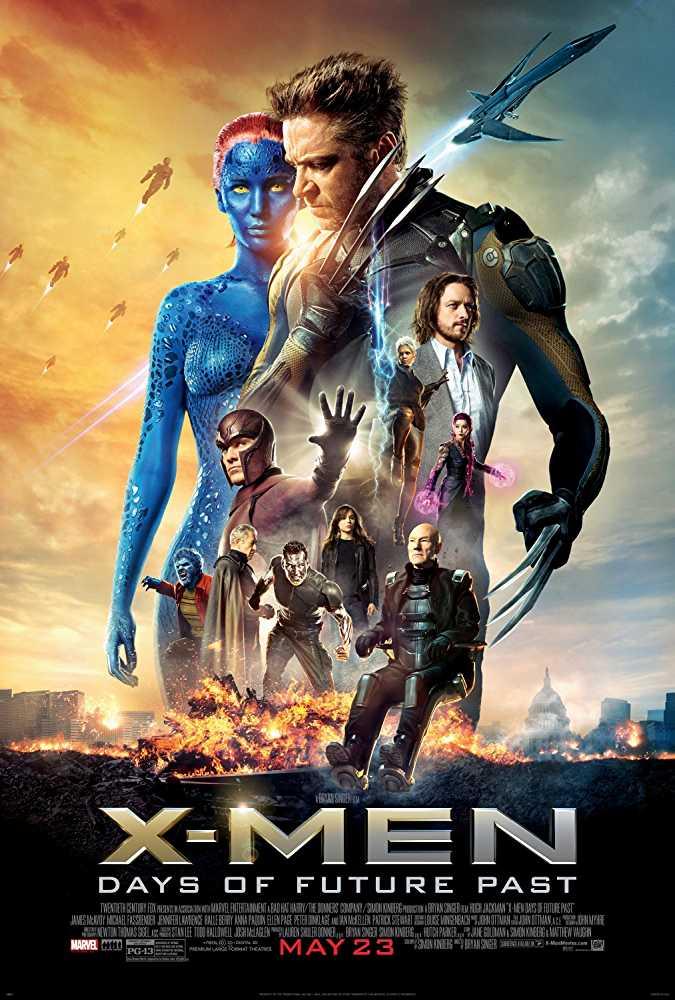 X Men Days Of Future Past 2014 Hindi Dual Audio Bluray
