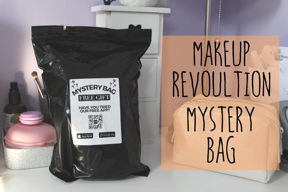 Makeup revolution mystery bag