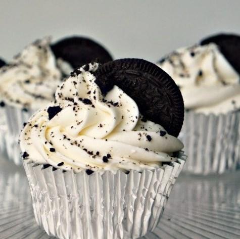 Oreo Cupcakes #dessert #cake