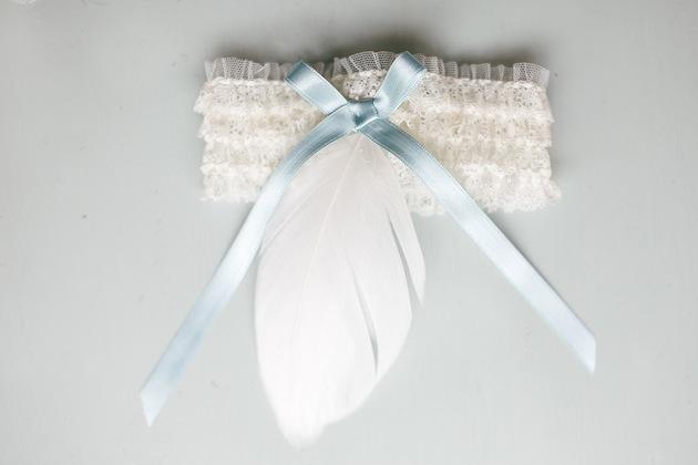 Подвязка кружевная для невесты своими руками