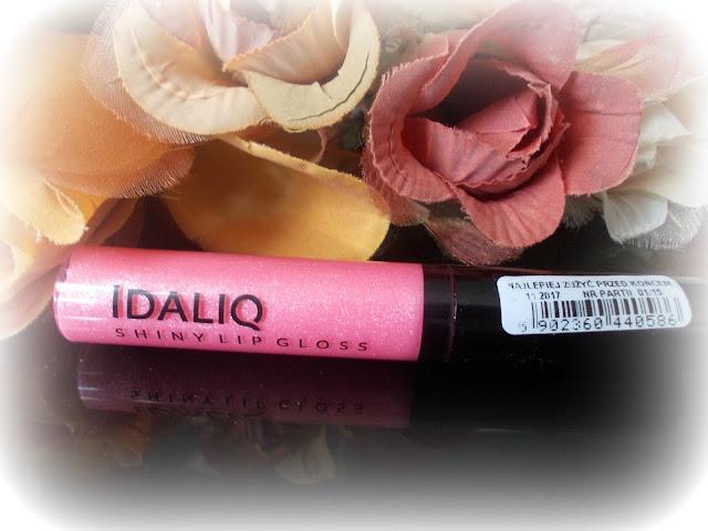 Idaliq - Błyszczyk Shiny lip gloss, świetlista morela.
