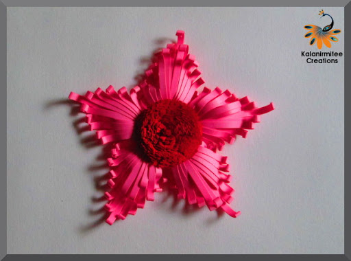 Kalanirmitee creations 3d quilling majestic quilled flower tutorial mightylinksfo