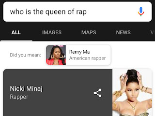 Who Is The Queen Of Rap? Google Says Nicki Minaj