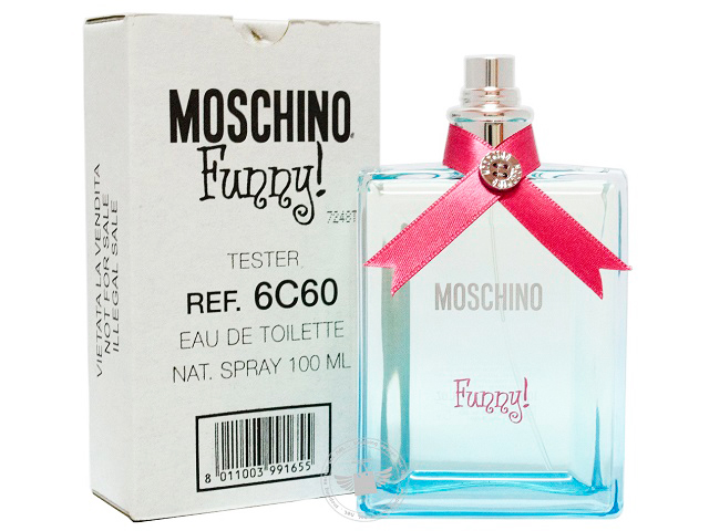 07c36a9f397 Moschino Funny 100ml Edt Spray (Tester Unit)
