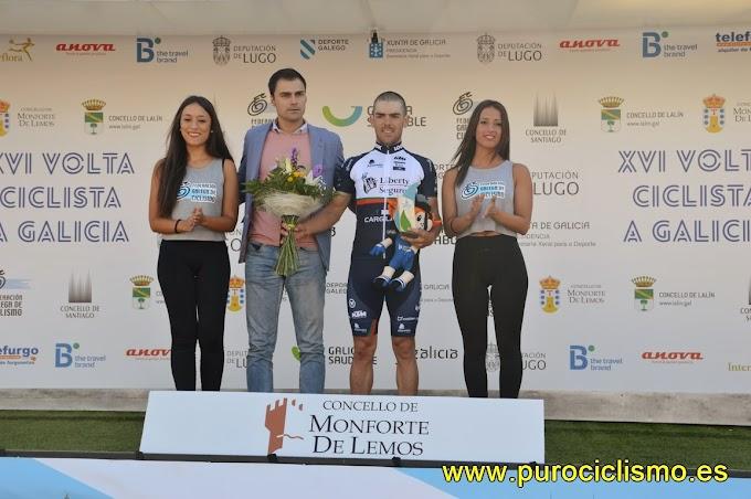 César Martingil - Ganador de la segunda etapa de la Volta a Galicia