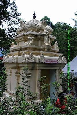 Hindu temple, Opposite The Weld, Kuala Lumpur, Malaysia