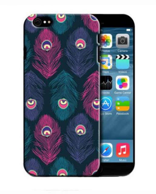 Peacock Feathers Back Cover for Apple iPhone 6