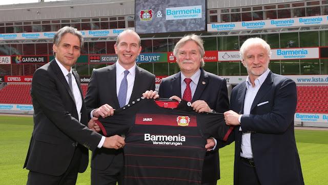 LG se va de la camiseta del Leverkusen
