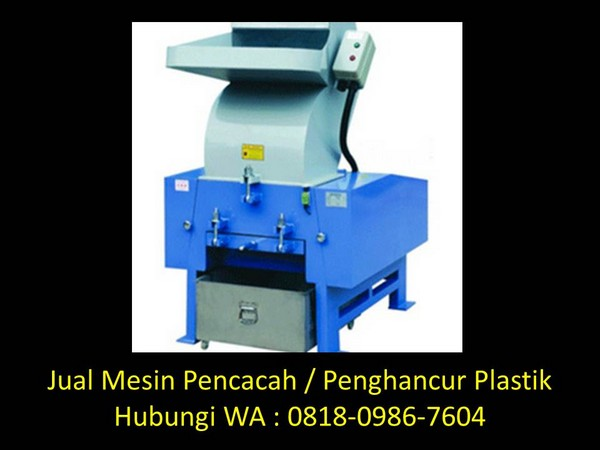 mesin giling plastik kapasitas di bandung
