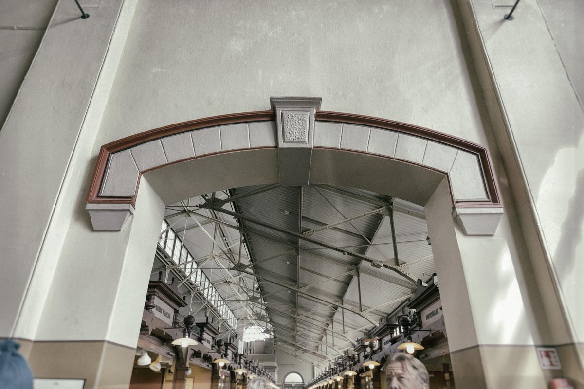 Juhannus, Visualaddict, valokuvaaja, Frida Steiner, Helsinki, kauppahalli, vanha, rakennus