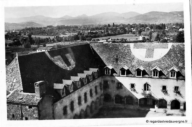 Institution Sainte-Marie de Riom 1944