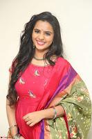 Manasa in Pink Salwar At Fashion Designer Son of Ladies Tailor Press Meet Pics ~  Exclusive 69.JPG