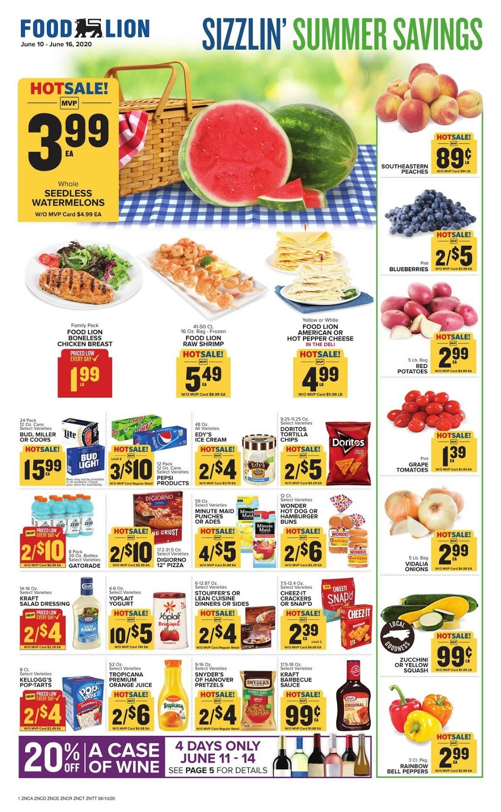 Food Lion Ad 6/17/20 - Food Lion Weekly Ad June 17 2020