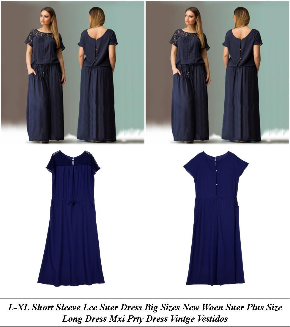 Lue And White Off Shoulder Ruffle Dresses - Uy Vintage Clothes Online Uk - Dinner Dress Love Nikki