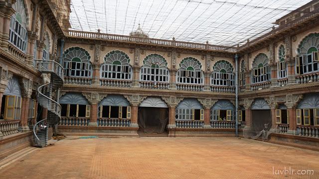 Inside Mysore Palace