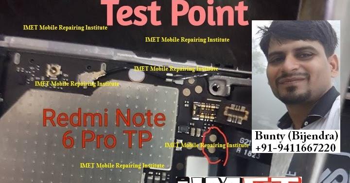 Xiaomi Redmi Note 6 Pro Test Point – Redmi Note 6 Pro EDL