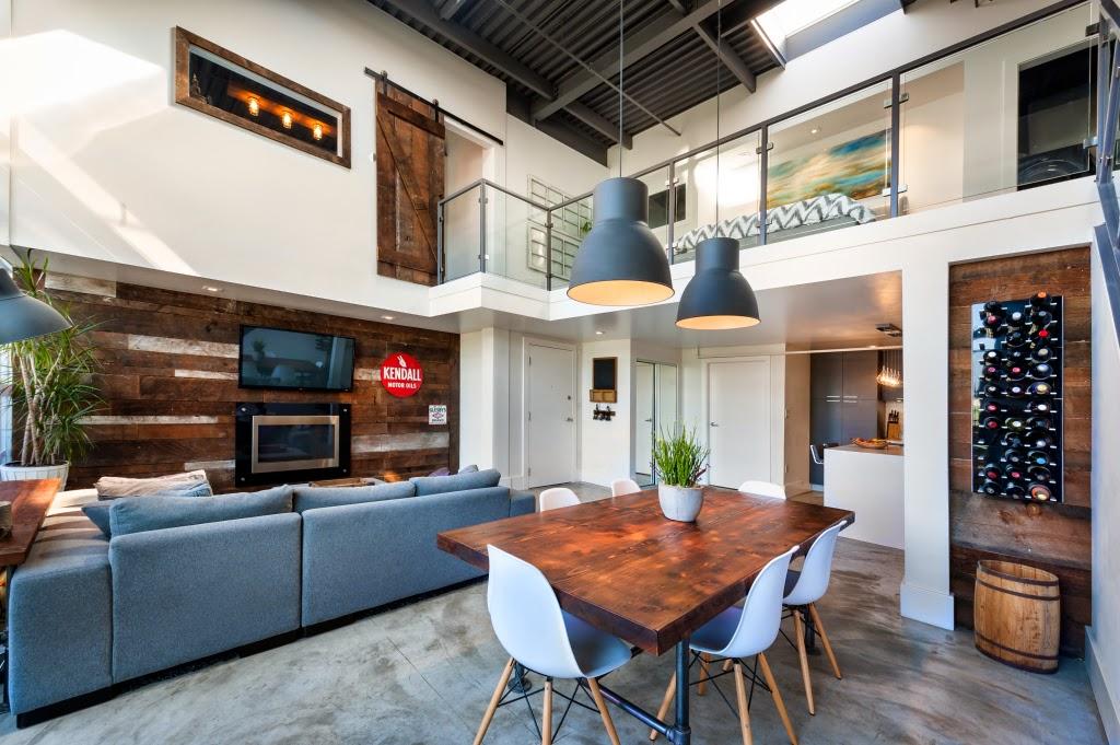 Un faro de ideas moderno loft estilo vintage for Casa moderna vintage