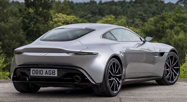 Burlappcar Aston Martin Vantage Teaser - 2018 aston martin vantage