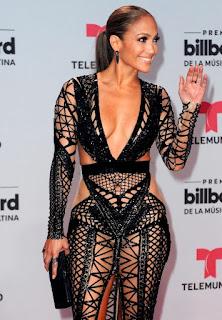 Sexy Jennifer Lopez red carpet