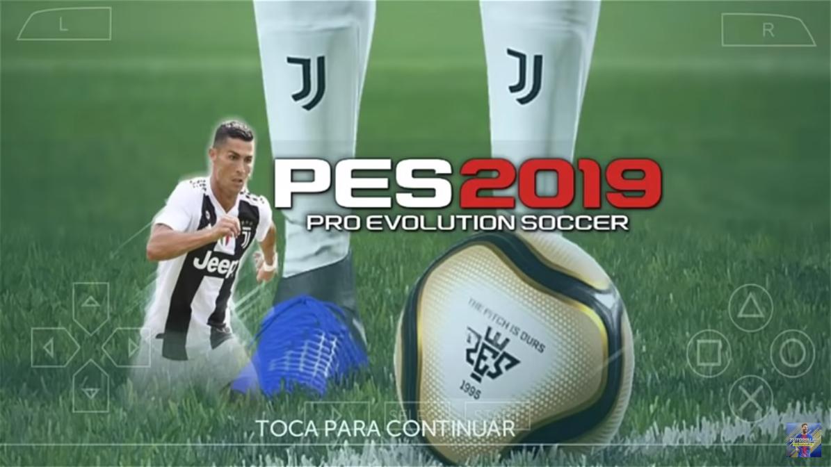 تحميل لعبة PES 19 على محاكي PPSSPP بملابس و وجوه جديدة