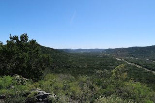 a view across the hill country