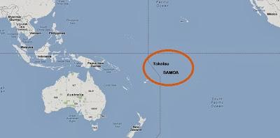 Samoa y Tokelau