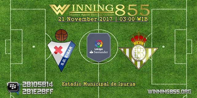 Prediksi Akurat Eibar vs Real Betis 21 November 2017