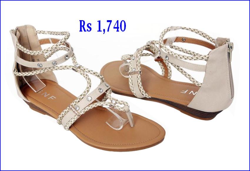 Feminine Beauty Corner Latest Summer Shoes 2017 Women Sandal With Price