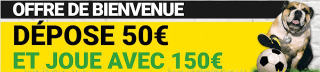 INSCRIPTION BETFIRST ET 100 EUROS OFFERTS BONUS DE BIENVENUE